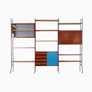Mid-Century Standing Wall Unit