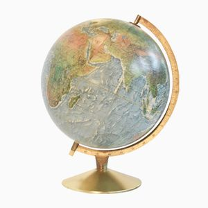 Mid-Century Danish Illuminated Globe from Scan Globe A/S