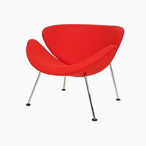 Dutch Orange Slice Lounge Chair by Pierre Paulin for Artifort, 1960s