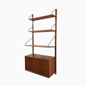 Danish Teak Royal System Wall Unit by Poul Cadovius, 1960s