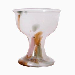 Cuenco Najade de vidrio de Per Lütken para Holmegaard, 1976