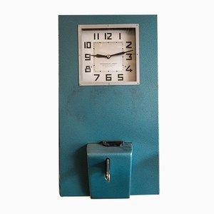 Orologio Time & Attendance vintage di Lambert, 1978