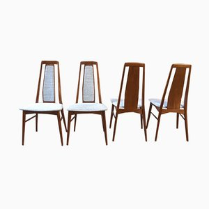 Mid-Century Danish Dining Chairs By Niels Koefoed, 1950s, Set of 4