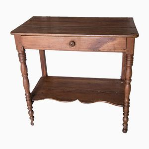 Small Antique Cherry Console Table