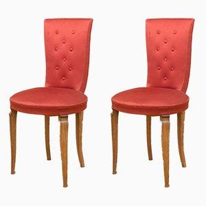 Neoklassizistische Stühle, 1940er, 2er Set