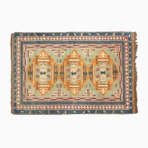 Alfombra turca de lana, años 50