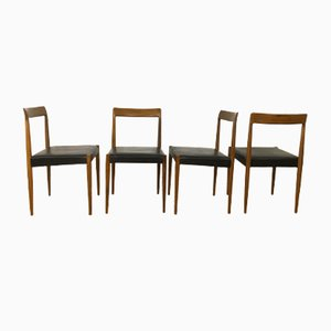 Mid-Century Chairs from Lübke, 1960s, Set of 4