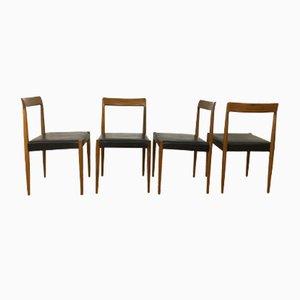 Mid-Century Stühle von Lübke, 1960er, 4er Set
