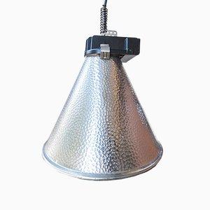 Kegelförmige französische Mid-Century Deckenlampe von Philips, 1970er