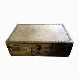 Vintage Parchment Suitcase