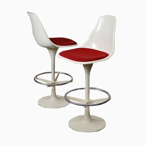 Swivel Bar Chairs by Maurice Burke for Arkana, 1965, Set of 2