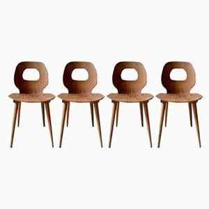 Vintage Stühle von Baumann, 1960er, 4er Set