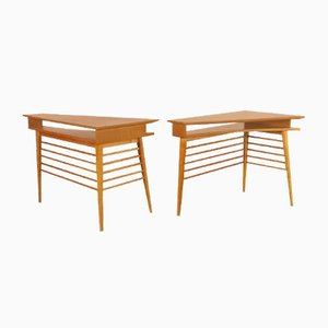 Mid-Century Side Tables, 1960s, Set of 2