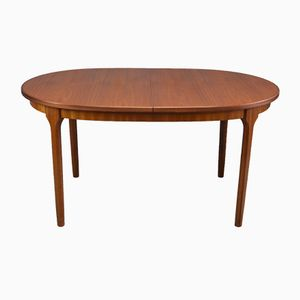 Mid-Century Oval Dining Table from McIntosh