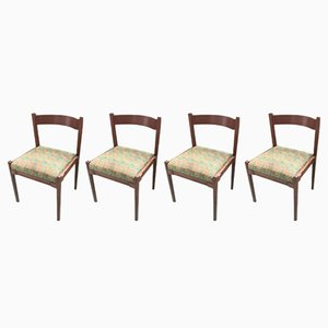 Vintage Model 104 Chairs by Gianfranco Frattini for Cassina, Set of 4