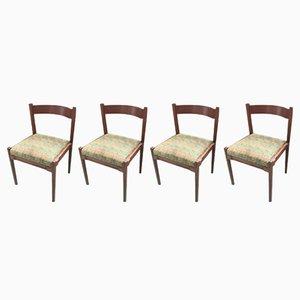 Vintage Modell 104 Stühle von Gianfranco Frattini, 4er Set