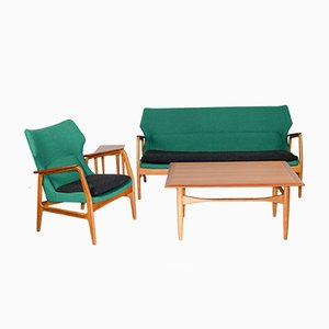 Mid-Century Living Room Set by Aksel Bender Madsen for Bovenkamp