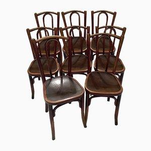 Chaises de Bistrot de Thonet, 1920s, Set de 8