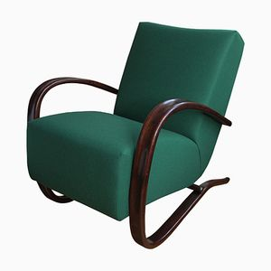 Czech H269 Lounge Chair By Jindrich Halabala for UP Závody, 1940s