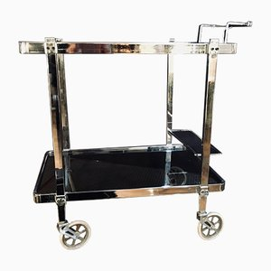 Chrome Drinks Trolley, 1970s