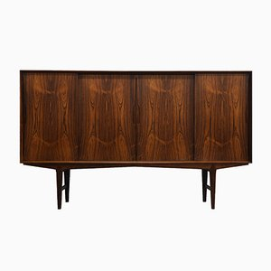 Mid-Century Danish Rosewood Highboard by O.Frandsen for Knud Nielsen, 1964