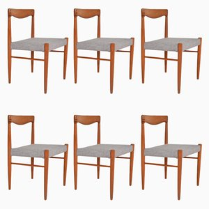 Vintage Stühle von Henry Walter Klein für Bramin, 1960er, 6er Set
