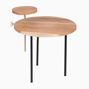 Table Basse ETTORE Noire par Leonardo Fortino pour Formae