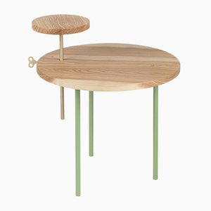Pale Green ETTORE Coffee Table by Leonardo Fortino for Formae