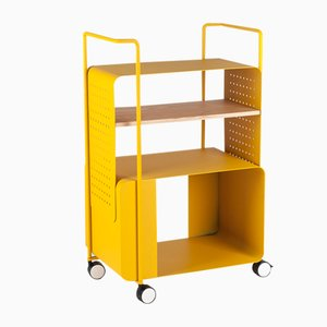 Yellow ENGIOI Cart by Lucio Curcio e Luca Binaglia for Formae