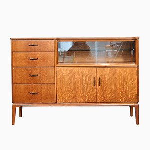 Mid-Century Oak Highboard from Lebus, 1960s