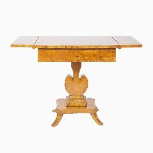 Petite Table Basse Biedermeier en Bouleau