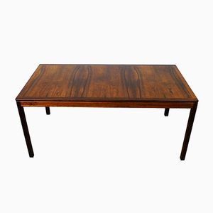 Vintage Rosewood Coffee Table by S. Engström & G. Myrstrand for Tingströms