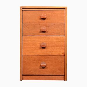 Mid-Century Teak Chest of Drawers by John & Sylvia Reid for Stag