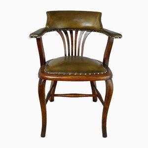 Chaise de Bureau de A.M. Coleman & Co., Angleterre, 1920s