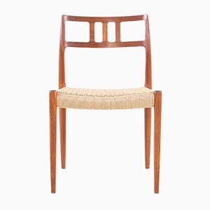 Sedia nr. 79 in teak di Niels Otto Møller per J.L. Møllers, anni '60