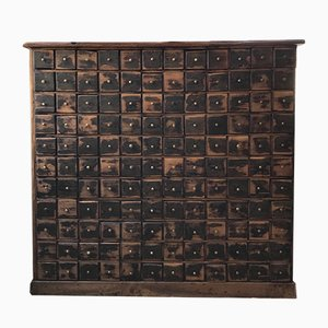 Mueble de farmacia vintage