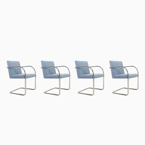 Vintage BRNO Chairs by Mies van der Rohe for Gordon International, Set of 4