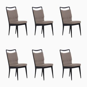 Mid-Century Chairs from ISA Bergamo, Set of 6