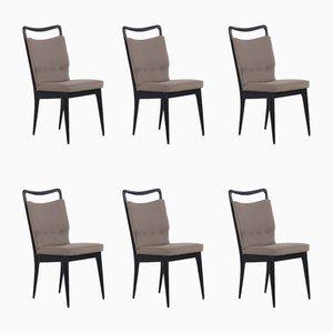 Mid-Century Stühle von ISA Bergamo, 6er Set
