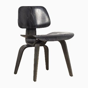 Mid-Century Black DCW Dining Chair by Charles & Ray Eames for Herman Miller, 1950s