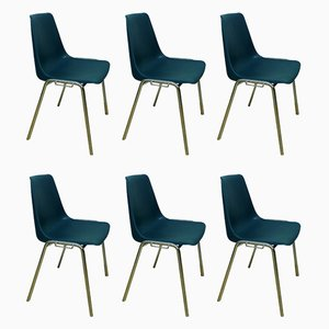 Vintage Shell Chairs from Kusch+Co, Set of 6