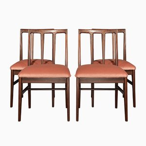 Mid-Century Afromosia Dining Chairs by John Herbert for A. Younger Ltd., Set of 4