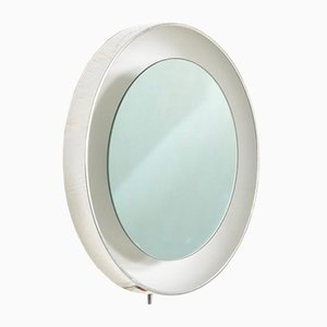 Mid-Century Illuminated Wall Mirror from Lightolier, 1970s