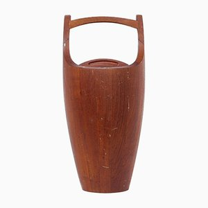 Mid-Century Danish Teak Ice Bucket by Jens Quistgaard for Dansk Design