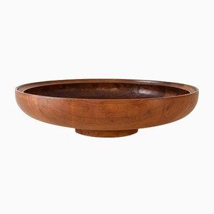 Mid-Century Danish Teak Bowl by Henning Koppel for Georg Jensen