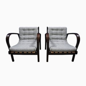 Lounge Chairs by Karel Kozelka & Antonín Kropacek for Interier Praha, 1940s, Set of 2