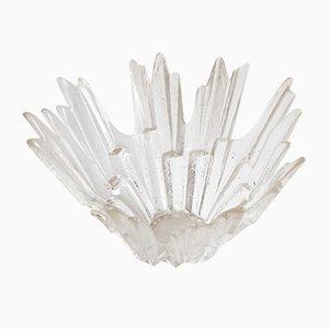 Dekorative Schale aus Kristallglas von Tauno Wirkkala für Humppila, 1960er
