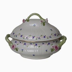 Sopera húngara antigua de porcelana de Herend