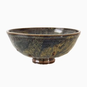 Mid-Century Handcrafted Ceramic Bowl