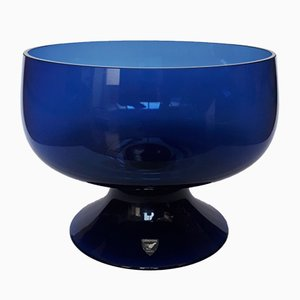 Vintage Swedish Glass Bowl from Orrefors, 1970s
